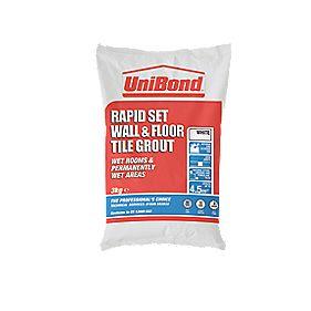 Rapid Set Wall & Floor Tile Grout White 5kg