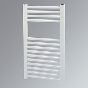 Kudox Flat Towel Radiator White 400 x 700mm 259W 884Btu
