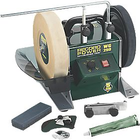 Record Power WG250 250mm Wet Stone Bench Grinder 230V