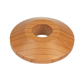 Cherry Real Wood Pipe Collars 2pk