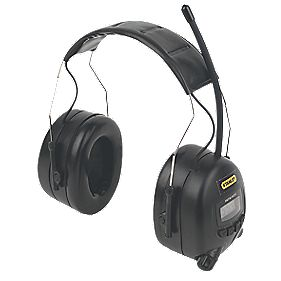 Stanley SY360 AM/FM Radio Ear Defenders 31dB SNR