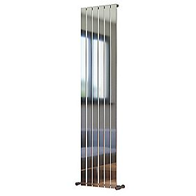 Ximax Oceanus Vertical Designer Radiator Chrome 1800 x 410mm 2704BTU