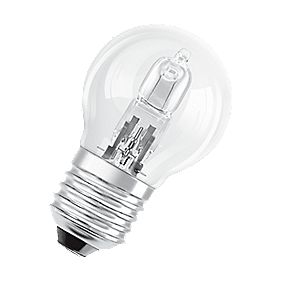 Osram Classic ECO Superstar Ball Halogen Lamp ES 405Lm 30W