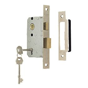 "ERA 3-Lever Mortice Sashlock Chrome Effect 2½"" / 64mm"