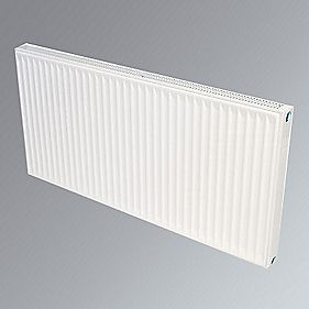 Flomasta Type 21 Double Panel Single Convector Radiator White 300 x 1600mm