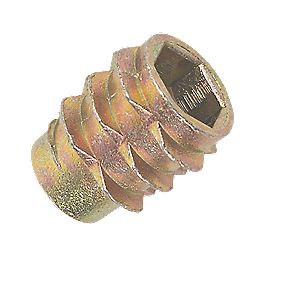 Insert Nuts Type E M6 x 13mm Pack of 50