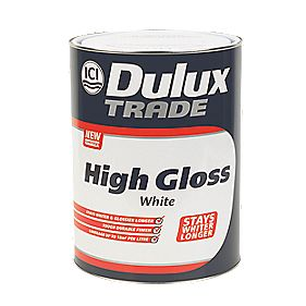 Dulux Trade High Gloss 5L White