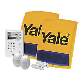 Yale Premium Wireless 4 Room Alarm Kit
