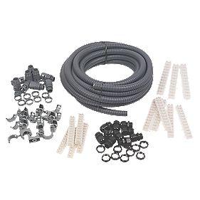 Adaptaflex Budget Installer Pack & Polypropylene Conduit 20mm Grey
