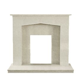 Be Modern Ella Manila Micro Marble Fire Surround