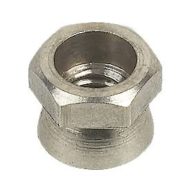 A2 Stainless Steel Security Shear Nuts M5 x 10mm Pack of 10