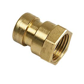 Yorkshire Tectite Sprint Female Coupler 15mm x ½""
