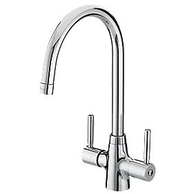 Bristan Monza Sink-Mounted Mono Mixer Kitchen Tap Chrome