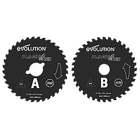 Evolution 155mm Twin Blades