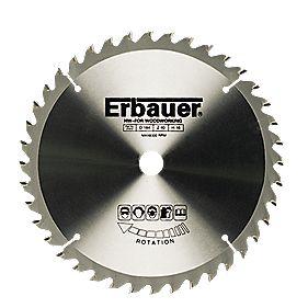 Erbauer TCT Circular Saw Blade 24T 205 x 18mm