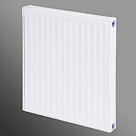 Flomasta Type 11 Single Panel Single Convector Radiator White 600 x 500mm