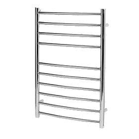 Reina EOS Curved Ladder Towel Radiator S/Steel 600 x 430mm 262W 895Btu