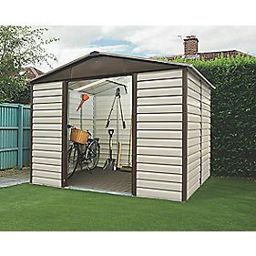 "Yardmaster Shiplap Sliding Door Apex Shed 9'10"" x 12'1"" x 7'2"""