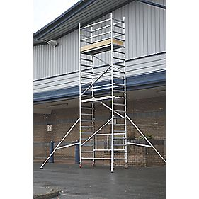 Lyte LIFT4.6 Folding Work Tower System 4.6m Platform
