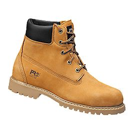 Timberland Pro Waterville Ladies Safety Boots Wheat Size 4