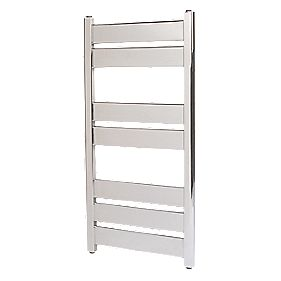Kudox Alcala Designer Towel Radiator Chrome 400 x 700mm 200W 682Btu