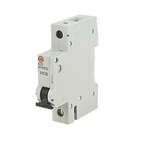 Wylex 32A SP Type B MCB 6kA Domestic Circuit Protection