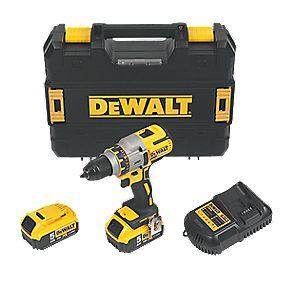 DeWalt DCD990P2 18V 5.0Ah Li-Ion XR Brushless Drill Driver
