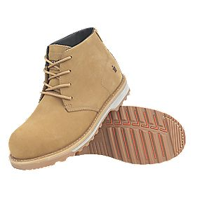 Scruffs Chukka Safety Boots Tan Size 8