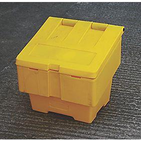 JSP Salt Grit Bin 50kg Yellow