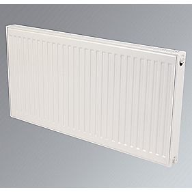 Kudox Premium Type 21 Compact Double Panel Radiator White 600 x 2200mm
