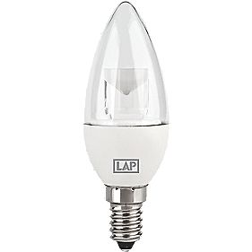 LAP LED Candle Lamp Clear SES 330Lm 5W