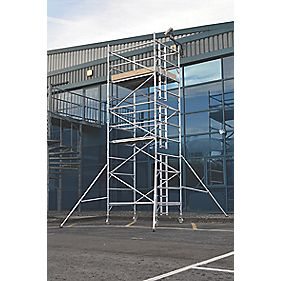 Lyte SF18DW47 Helix Double Width Industrial Tower 4.7m