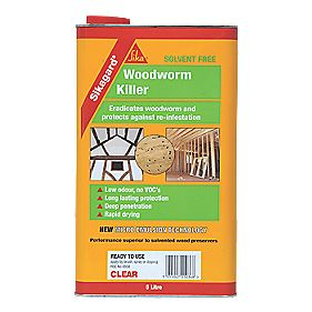 Sika Sikagard Woodworm Killer Clear 5Ltr