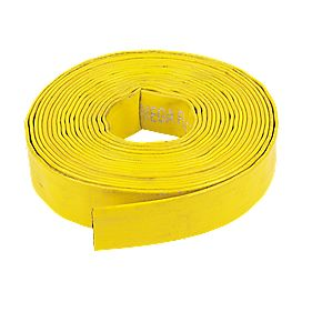 "Layflat Hose Yellow 10m x 1¼"" (32mm)"