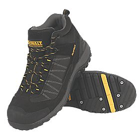 DeWalt Nailer Safety Boots Black Size 7
