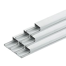 Tower Maxi Trunking 25mm x 16mm x 3m (90m) Pack of 30
