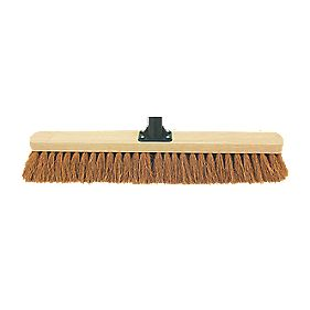 Soft Broom Head & Bracket 24""