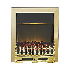 Traditional Electric Inset Fire 2kW