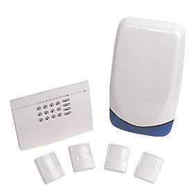 Texecom Wired 4 Room Alarm Kit
