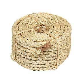 Sisal Rope Natural 9.5mm x 15.2m