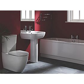 Twin-Ended Bath End Panel White 750 x 520mm