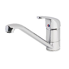 Swirl Single Lever Mono Mixer Kitchen Tap Chrome
