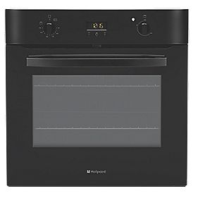 Hotpoint SHS 33X Single Built-In Electric Fan Oven S/Steel 600 x 600mm