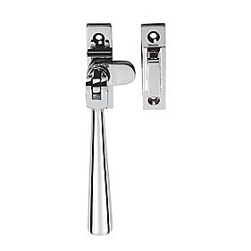 Serozzetta Carlisle Brass Casement Fastener Window Handle Polished Chrome