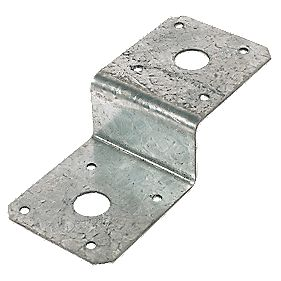 Deck Joist Tie Galvanised 50mm Pack of 4