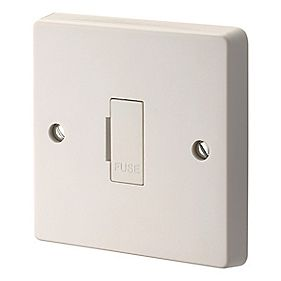Crabtree 13A Fused Connection Unit White