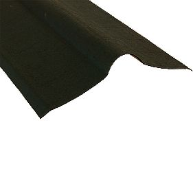 Coroline Ridges Black 900mm x 900mm Pack of 5