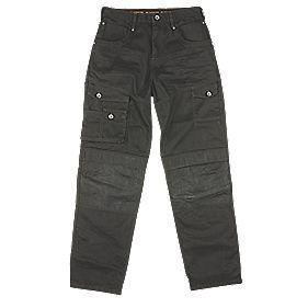 "DeWalt Pro Work Jeans Black 32"" W 32"" L"