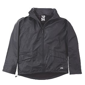 "Helly Hansen Voss Waterproof Jacket Black Large 41-42½"" Chest"