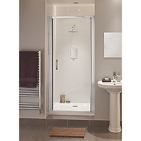 Moretti Shower Enclosure Side Panel Chrome Effect 760mm